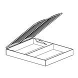 СП-07 Ящик бельевой с подъемным механизмом и ортопедическим основанием