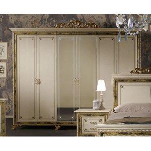 Шкаф 6-ти дверный с зеркалами