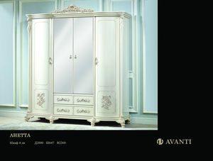 Шкаф 4-х дверный «Анетта» 1320