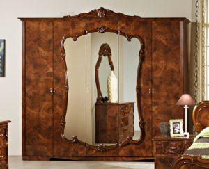 Шкаф 5-и дверный с зеркалами