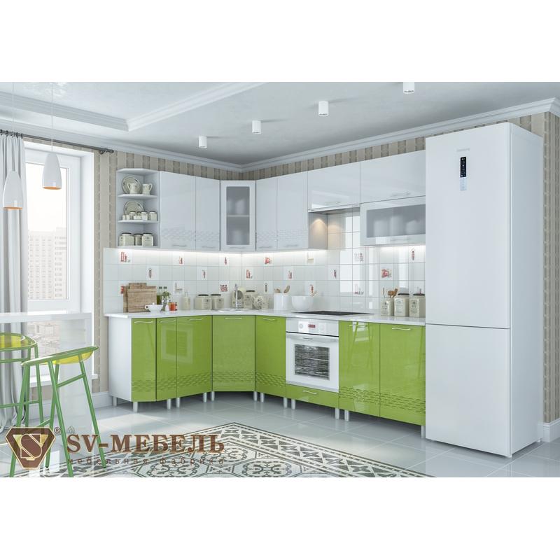 Кухонный гарнитур Волна Баклажан