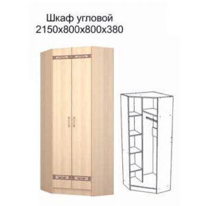Шкаф угловой