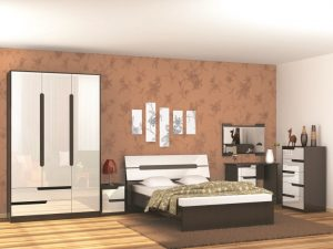 Спальня «Гавана» (Венге/ Дуб молочный )