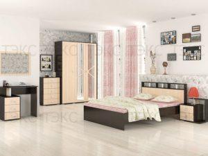 Спальня «Ненси-2» (Венге/Дуб молочный)