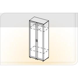 Шкаф 2-х створчатый ШК