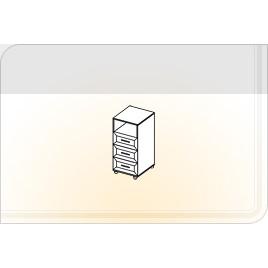 Тумба с ящиками ТЯ