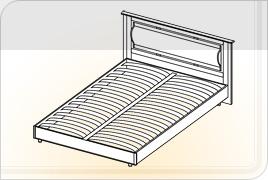 Кровать КР 1,6Х2