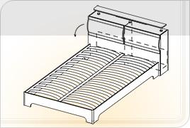 Кровать КР -1