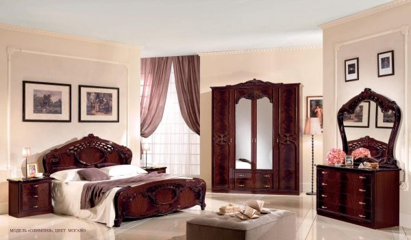 """Спальня """"Олимпия"""" (могано)"""