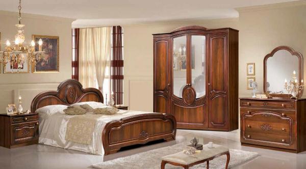 """Спальный гарнитур """"Щара"""" с 4-х дверным шкафом"""