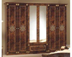 Шкаф 6-и дверный с зеркалами