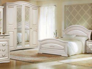 """Спальный гарнитур """"Венера""""   с 4-х дверным шкафом"""