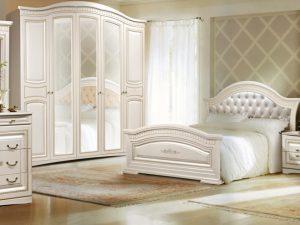 """Спальный гарнитур """"Венера"""" с 5-ти дверным шкафом"""