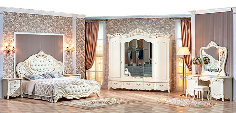 "Спальня ""Элиза Люкс с 3- х дверным шкафом"""