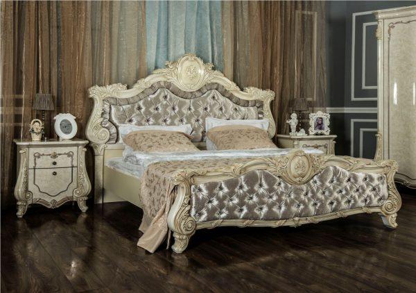 """Спальня """"Марселла"""" 5-ти ств. шкаф (крем)"""
