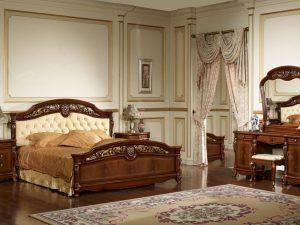 Спальня AFINA (Афина) орех с золотом