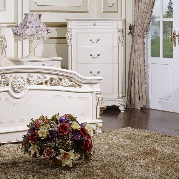 Спальня AFINA (Афина) белый с золотом