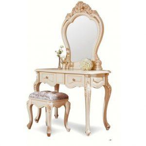 MK-1850-IV. Туалетный столик   с зеркалом БЕЗ БАНКЕТКИ