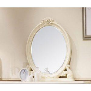 8802-A. Зеркало для консоли овальное
