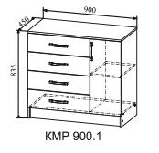 Комод КМР 900.1