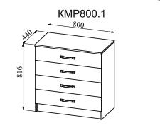 Комод КМР 800.1