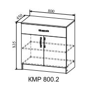 Комод КМР 800.2