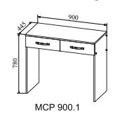 Стол макияжный МСР 900.1