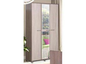 Шкаф 3-х дверный с зеркалом (АШ-3)