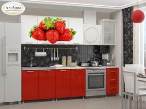 Кухня Клубника (2 м)