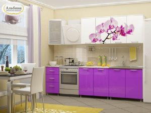 Кухня Орхидея (2 м)
