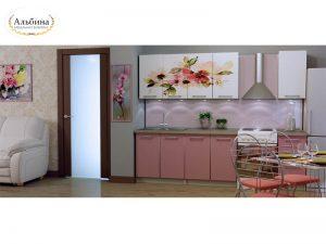 Кухня Цветы (2 м)