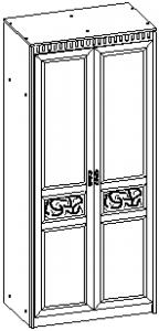 Шкаф 2-х дв. 927*568*2113 мм