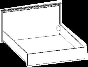 Кровать 1720*2039*868 мм