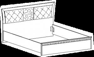 Кровать с мягким элементом 1750*2038*960 мм