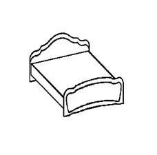 Кровать  2048*1647 мм (сп.м. 160*200 см)