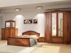 Спальня Сильвия (орех)