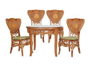 5011 Обеденная группа (стол, 4 стула)