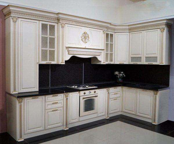 Кухонный гарнитур Валенсия угловая, 3,6*1,65 м