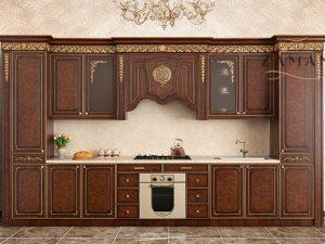Кухонный гарнитур Венеция  прямая 4,14 м