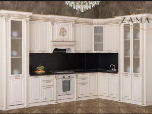 Кухонный гарнитур Валенсия угловая, 3,85х2,4 м