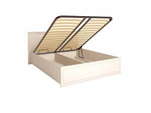 «Венеция» 5. Кровать двойная 1600 мм с подъемным механизмом, без матраса