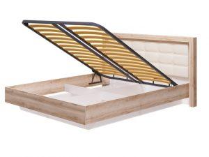 12 Кровать 1600 мм с ПМ Люмен, без матраса