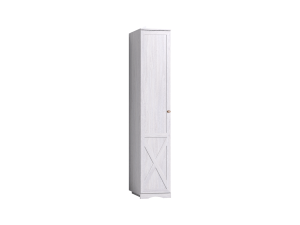 ADELE 7 Шкаф для белья, фасад ЛЕВЫЙ, ясень анкор светлый