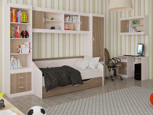 Детская комната «Паскаль». Компоновка 2