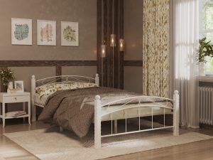 Кровать Garda-15 Белая 1400, без матраса