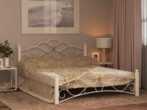 Кровать Garda-3 Белая 1400, без матраса