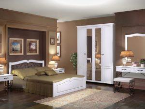 Компоновка 1. Спальня «Лукреция».