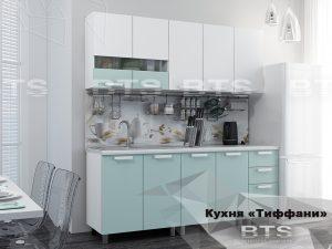 Кухня 2,0м Тифани (кенди/белый)