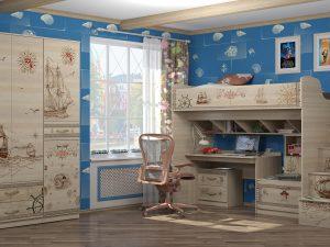 Детская комната «Квест».Комплект 1