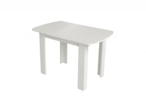 Персей-1 Стол обеденный  раздвижной, Бодега Белый